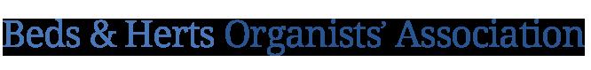 Bedfordshire & Hertfordshire Organists
